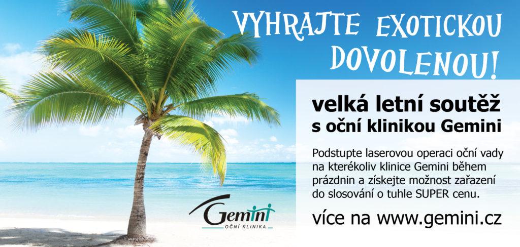 Reklama do časopisu - Gemini